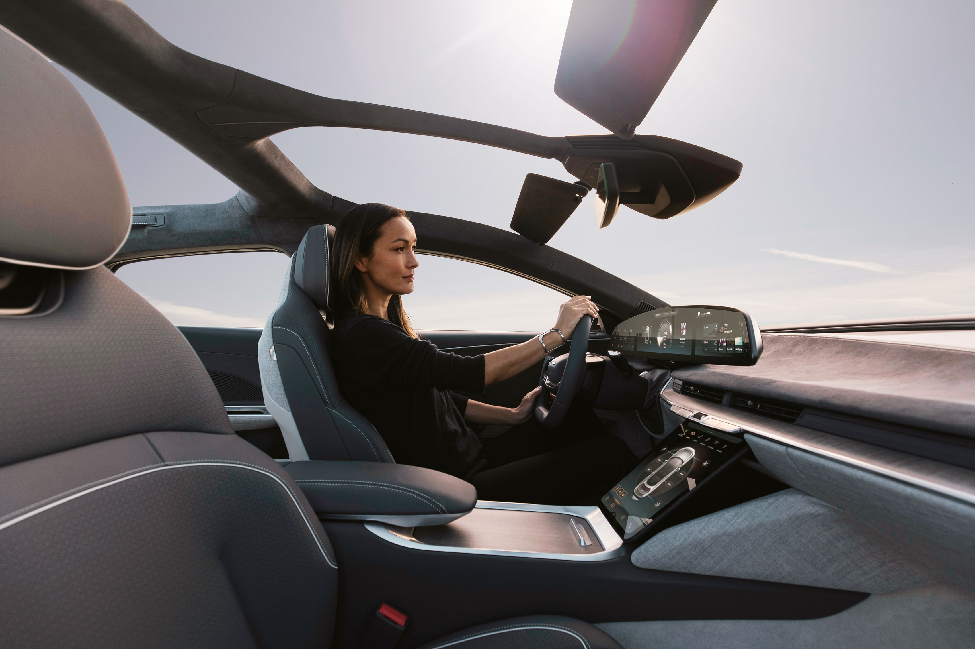 Lucid Air, interni